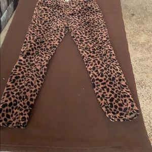 This animal print pant will never go out of style.